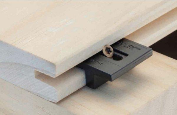 Hardwood clip voor Accoya